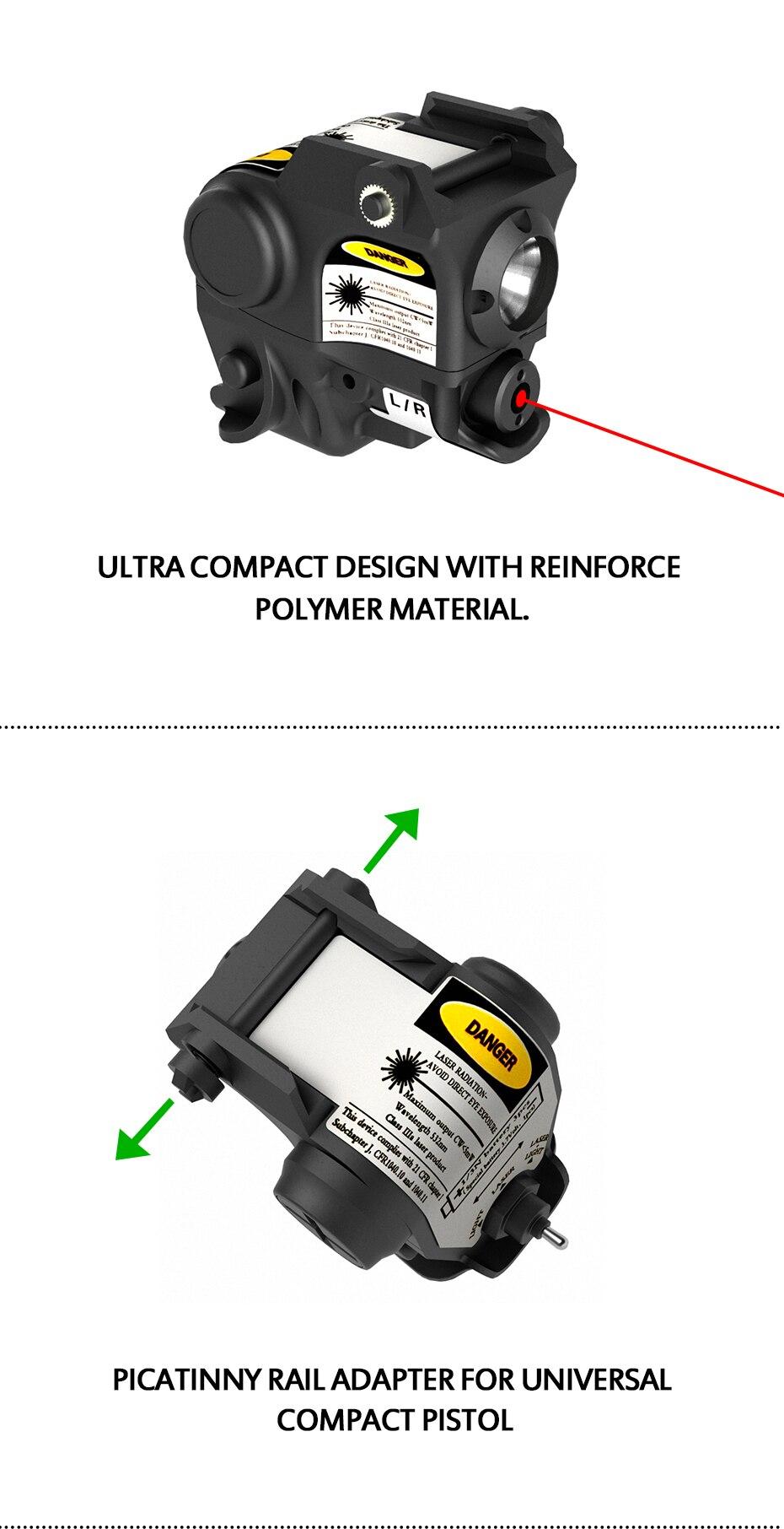 Beretta px4 compacto pistola laser luz de