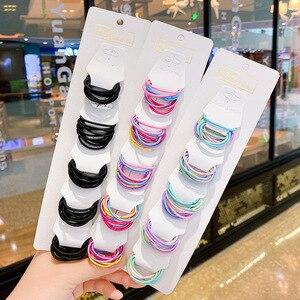 Accesorios de cabello para chica de Modal coreana, lazos para el cabello de goma muy elástica para niños