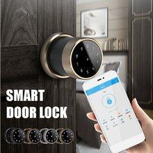 Домашний цифровой дверной замок приложение bluetooth шлюз пароль IC карта замок комплект деревянные ворота защелка Электрический замок офисная безопасность