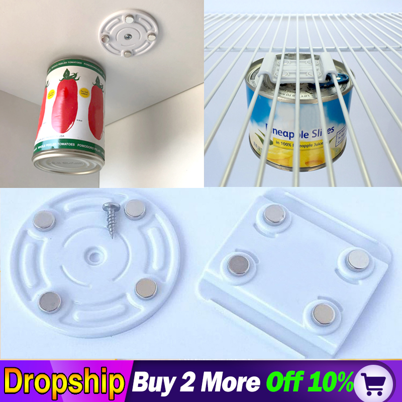 CanLoft Magnetic Canned Food Hangers Magnetic  Refrigerator Kitchen Tools Drop Shopping Storage Organization Home Cup Hanging