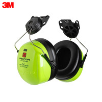 Noise Earmuffs 3M H540P3E 475 GB High visibility Peltor Optime III anti noise headphones with helmet mount Security Protection Workplace Safety Supplies Noise Equipment H540P3E 475 GB