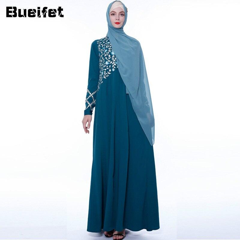Abayas for Women Islam Caftan Marocain Dresses Vestidos European Clothing Kaftan Dubai Abaya Turkey Muslim Femme Musulmane 1