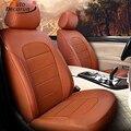 Защитные чехлы для сидений AutoDecorun из яловой кожи для Honda Accord  комплект крышек сидений 2014-2017  аксессуары для интерьера  14 шт./компл.  автомобиль...