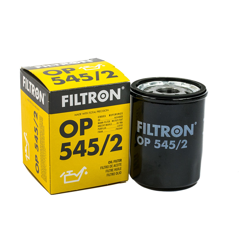 FILTRON OP545/2 For oil filter For Alfa Romeo, Citroen, Fiat turbo cartridge chra for alfa romeo 147 for fiat doblo bravo multipla 1 9l m724 gt1444 708847 708847 5002s 46756155 turbocharger