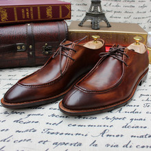 Sapato Business Low Top Custom-made Shoes Calfskin Sole Shoes Masculino Cow Leather Genuine Leather Full Grain Leather for Men Men's Shoes