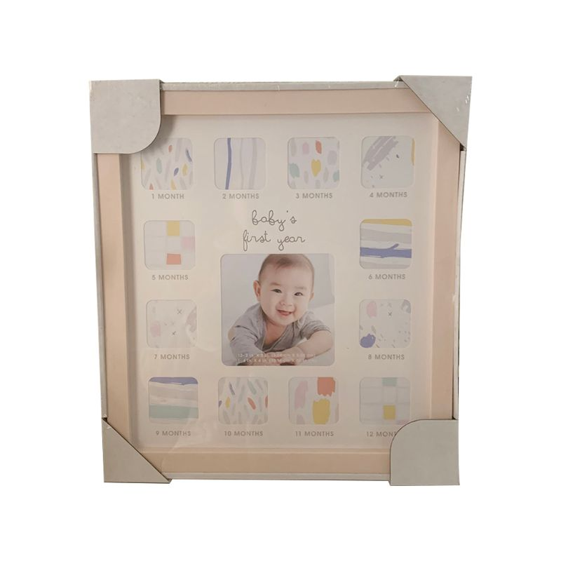 Baby 12 Months Commemorate Photo Frame Multi-function Wall Hanging Ornament P31B