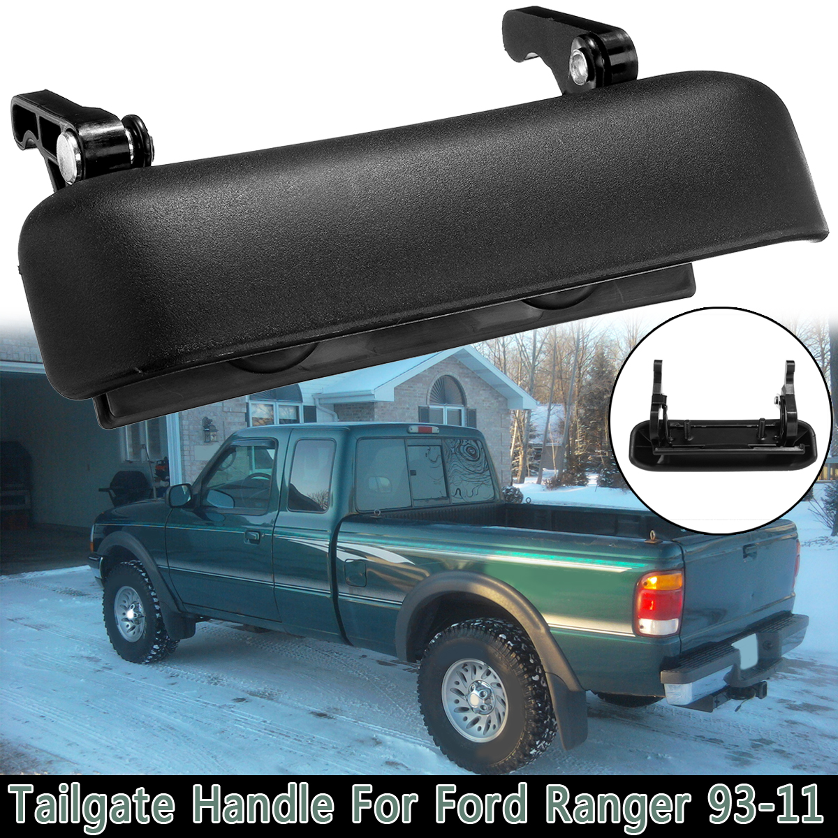 New Tailgate Handle for Ford Ranger FO1915113 1998 to 2005 Exterior