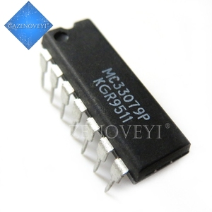 10pcs/lot MC33079P DIP-14 MC33079 DIP14 33079P DIP In Stock