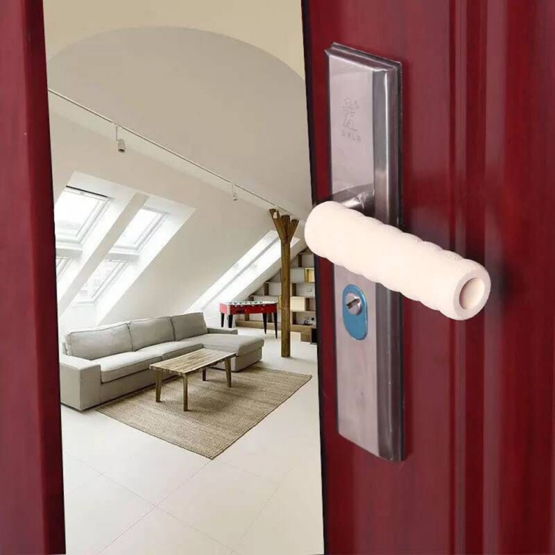 Room Door Handle Cover Baby Safety Children Protection Spiral Shape Cover Anti-collision Head Furniture Accessories