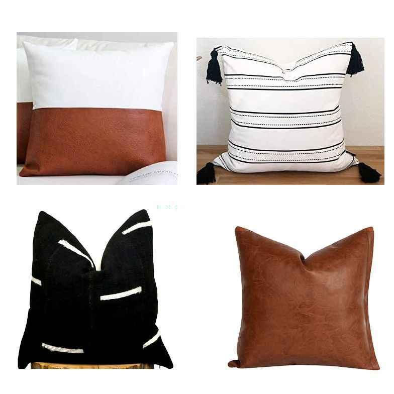 modern boho decorative cover sets for