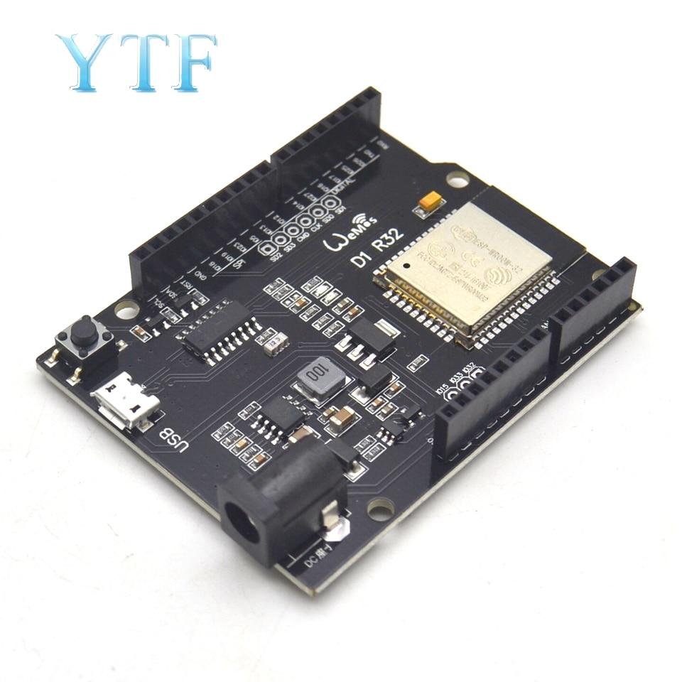 Wemos D1 ESP32 ESP-32 WiFi Bluetooth 4MB Flash D1 R32 Board Module CH340 CH340G Development Board For Arduino UNO