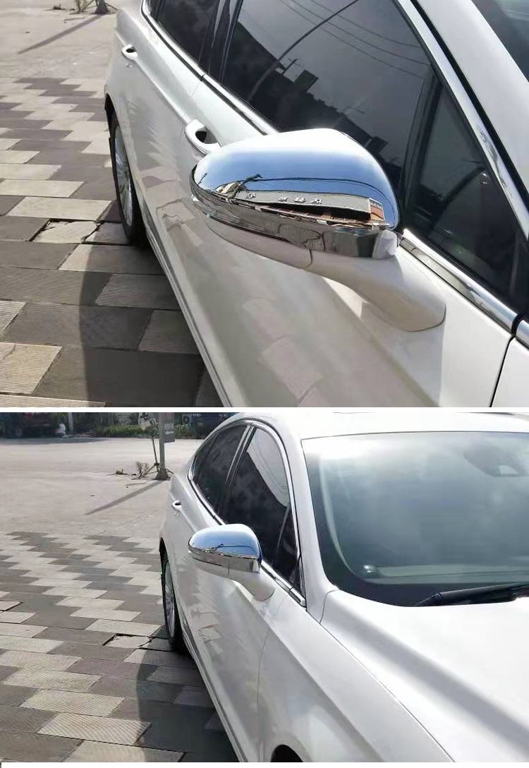 Carbon Fiber Rearview Mirrors Cover Trim For Ford Fusion Mondeo 2013-2018