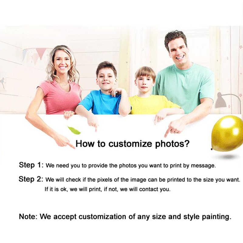 Tùy chỉnh hình ảnh yêu thích Người Phong Cảnh Động Vật Tất Cả hình ảnh Poster Tùy Chỉnh Chất Liệu Vải bố In Trang Trí Nhà Cửa