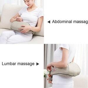 Image 4 - Elektrische Massage Shiatsu Terug Schouder Body Neck Massager Multifunctionele Sjaal Infrarood Verwarmde Kneden Auto/Home Massager