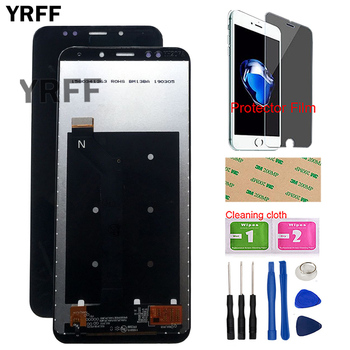 Mobile LCD Display For Xiaomi Redmi 5 Plus IPS LCD Display Touch Screen Digitizer Assembly Sensor Tools Protector Film