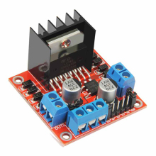 L298N driver board module L298 stepper motor smart car robot breadboard peltier High Power