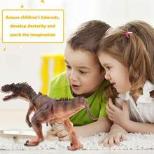 Plastic Dinosaur Model Jurassic Brulon Mini Animal Children's Toy Model L9Q2