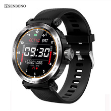 SENBONO 2020 Sport IP68 Waterproof Smart Watch Screen Touch Men Clock Women Fitness Tracker Smartwatch for IOS Android