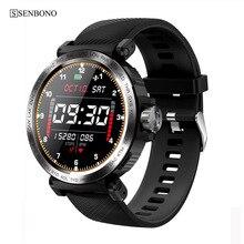SENBONO 2020 Thể Thao IP68 Chống Thấm Nước Đồng Hồ Thông Minh Màn Hình Cảm Ứng Nam Đồng Hồ Nữ Theo Dõi Đồng Hồ Thông Minh Smartwatch Dành Cho IOS Android