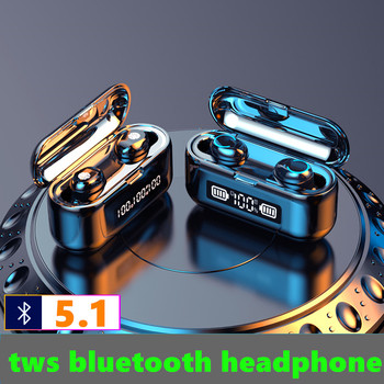F9 TWS Wireless Bluetooth earphone 3500mAh with LED Display Mic Bluetooth Headset gamer Waterproof Earbuds for xiaomi pk tws i12