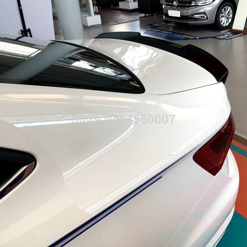 For VW Jetta 2019 Spoiler High Quality ABS Material Car Rear Wing Primer Color Rear Spoiler for Volkswagen Jetta Spoiler(China)