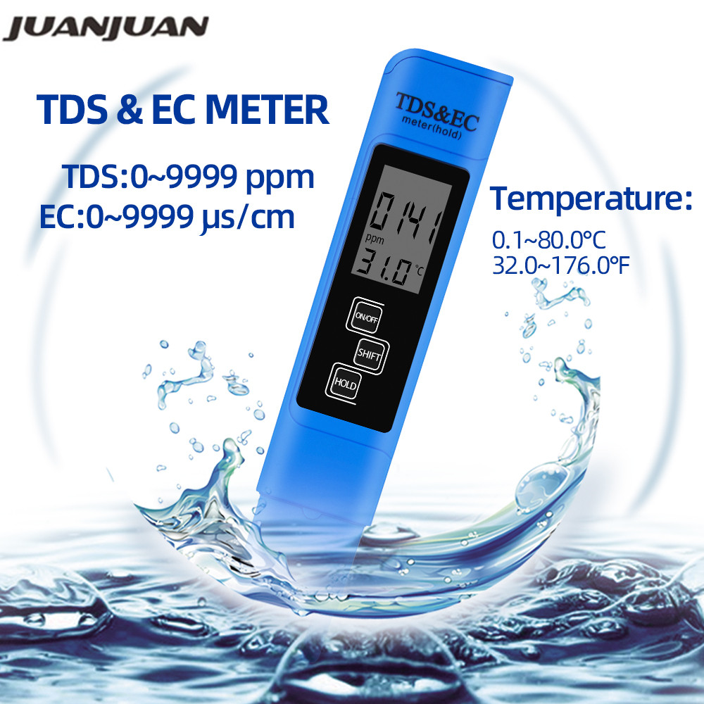 3in1 TDS /&EC Temperature PPM Meter Drinking Faucet Water Quality Tester Test Pen