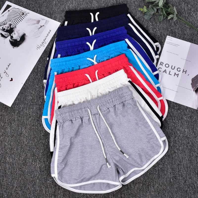 2019 New Women's Summer Thin Cotton Non-curly Outer Wear Loose Shorts