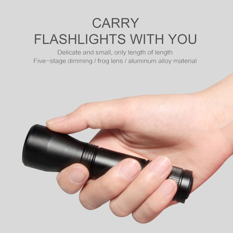 UV Ultra Bright LED Flashlight Light Rechargeable Adjustable Zoom 7500K 3.7V Torch Inspection Lamp For Camping Emergency Torch