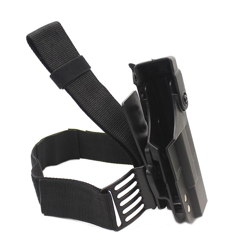 Image 2 - Tactical Gun Holster For Glock 17 19 22 23 26 31 Airsoft Pistol Drop Leg Holster combat Thigh gun Bag Case Hunting AccessoriesHolsters   -