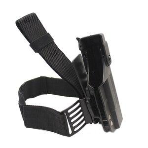 Image 2 - Tactical Gun Holster For Glock 17 19 22 23 26 31 Airsoft Pistol Drop Leg Holster combat Thigh gun Bag Case Hunting Accessories