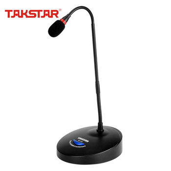 TAKSTAR MS-118 Desktop Conference Microphone Speech Mic With Switch for Public Address Conference System Church Broadcast