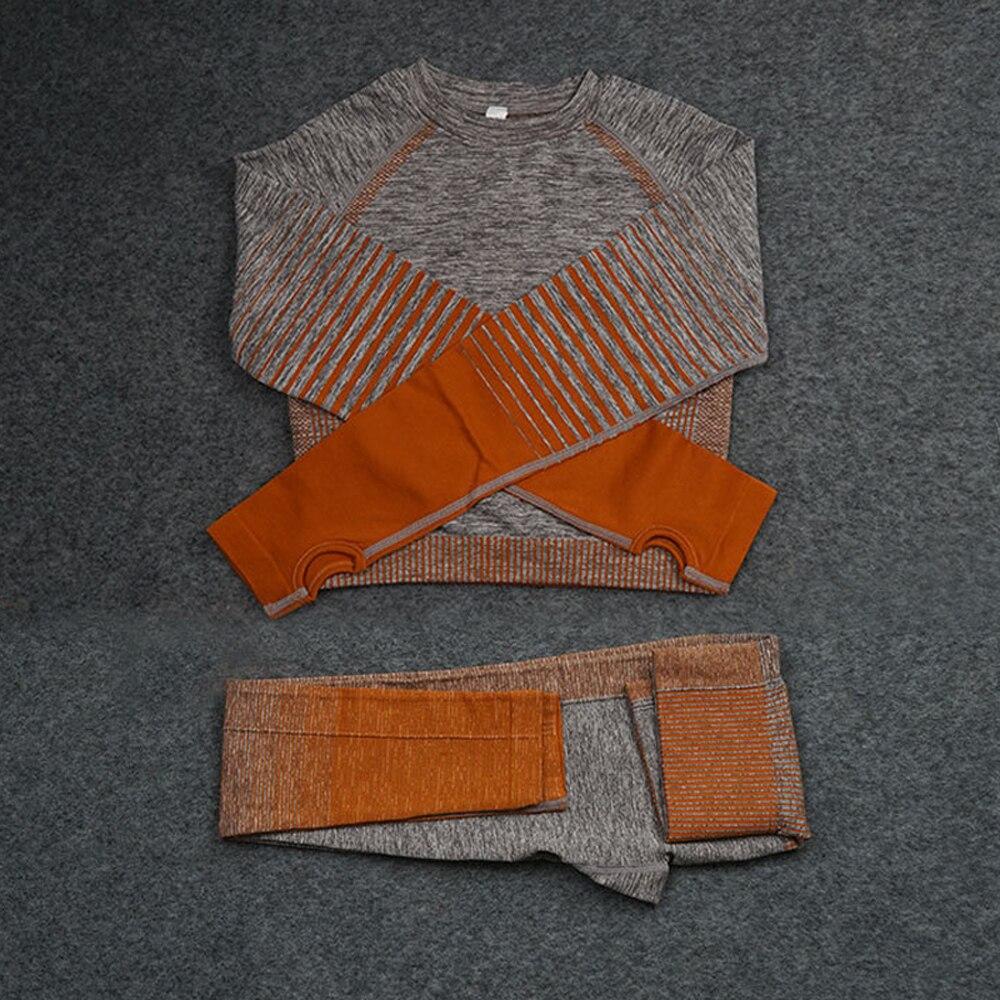 Набор для йоги спортивный комплект из 2 предметов женская одежда