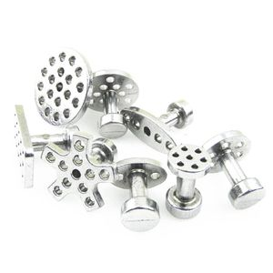 Image 5 - Onglets dextraction de colle en aluminium pour voiture, Kit doutils de débosselage sans peinture, 8 tailles avec 8 pièces