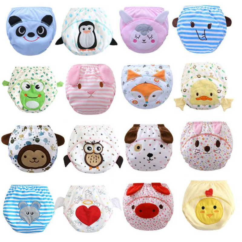 30pc/lot 3Layers Diapers  Reusable Baby Infant Nappy Cloth Diapers Soft Cotton Baby Nappy TRX0025