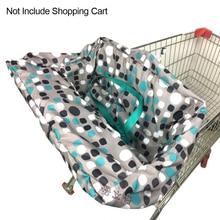 Полиэфирный прочный складной чехол для стульев для покупок многофункциональный коврик нескользящий чехол для сиденья для ребенка
