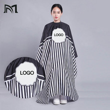 Customizable logo blank  140*160CM Hairdresser Capes Salon Barber Cutting Hair Waterproof Cloth BarberHairdresser Dress