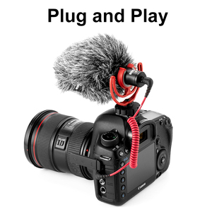 Image 4 - Original Rode VideoMicro On Camera Microphone Vlog Voice Recording Mic Interview Microphone for Canon Nikon Sony DSLR Smartphone