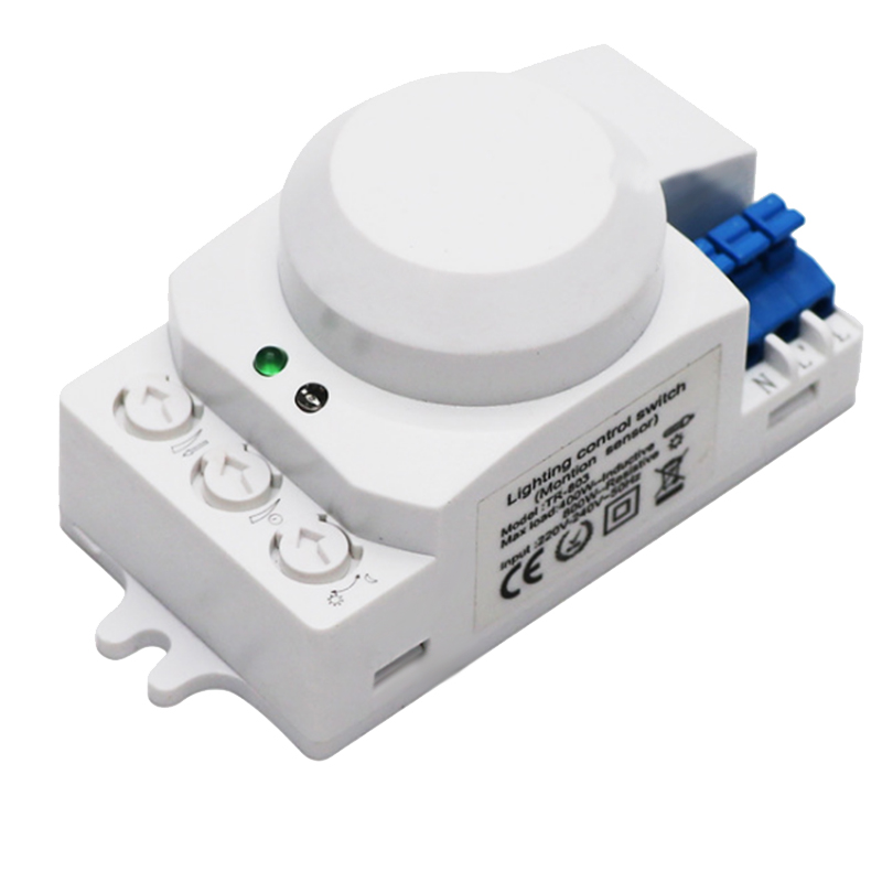 5.8GHz HF System LED Microwave 360 Degree Motion Sensor Light Switch Body Motion Detector.