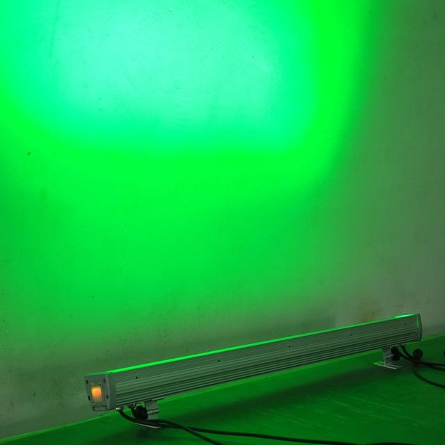 Led Guangzhou éclairage de scène 8 Pack 24x4W rouge/vert/bleu/blanc 4 couleurs extérieur bâtiment mur lavage lisse gradateur pas de scintillement