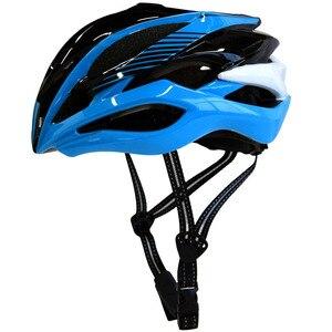 Ciclismo capacete da motocicleta com led turn light controle remoto + capacete integralmente moldado estrada bicicleta capacete com luz de advertência led