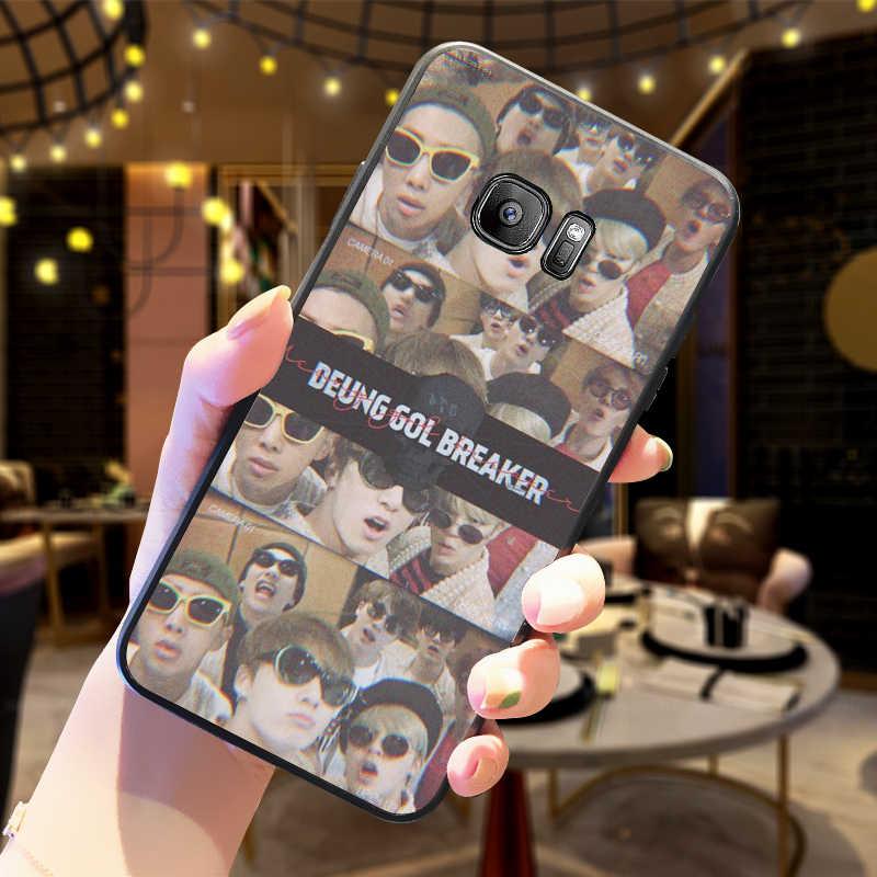 Vintage Bangtan Boys Dành Cho Samsung A10 A20 A30 A40 A50 A60 Bao A3 A5 6 2018 A8 A6 Plus MJ M40 Coque Funda