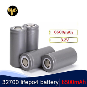 OYE 32700 3.2v 6500mAh lifepo4 rechargeable battery cell LiFePO4 5C discharge battery for Backup Power flashlight 32650 battery(China)