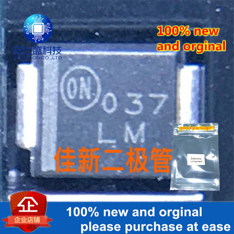 50pcs 100% New And Orginal 1SMB15AT3 DO214AA Silk-screen LM In Stock