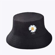 KPOP G-Dragon Daisy Hip Hop Flat Sun Hat Basin Hat PEACEMINUSONE Fans Collection