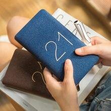 2021 calendrier livres 365 jours calendrier livre petit 48K Portable poche Plan carnet soutien personnalisation Cuaderno Journal Journal