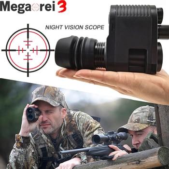 Megaorei 3 Night Vision Rifle Scope HD720P Video Record Photo Taking NV007 Hunting Optical Sight Camera 850nm Laser Infrared IR 1