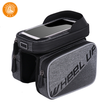 купить LOVELION Bicycle Bags Bicycle Front Touch Screen Phone Bag Mountain Bike Top Tube Bag Cycling Pannier Bag For Bicycle по цене 1876.43 рублей