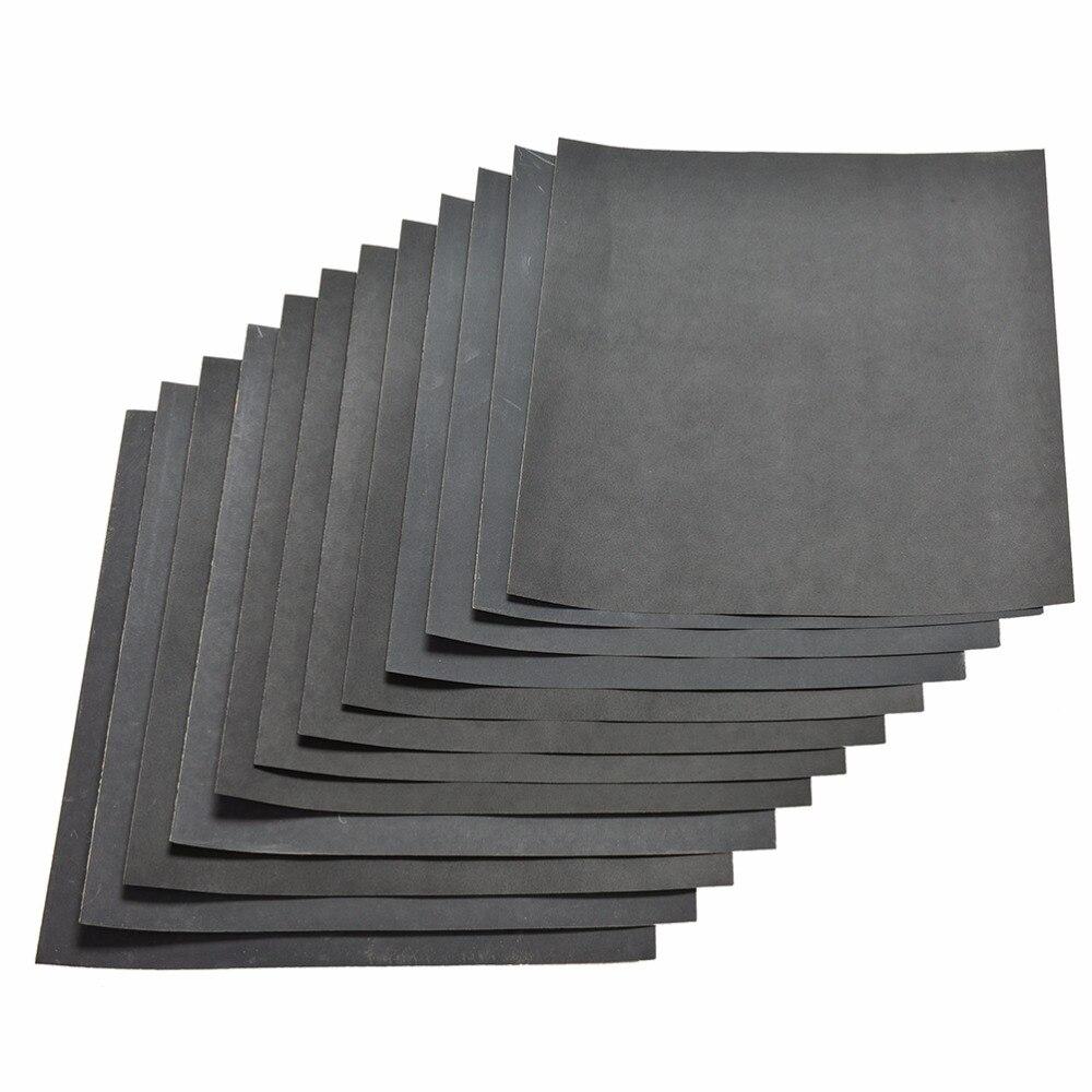 28x23cm Waterproof Sanding Paper Wet Dry Polishing Sandpaper Grit Granularity 1000#1200#1500#2000# Metal Wood Abrasive Tool