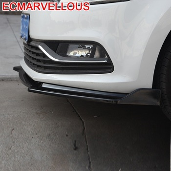 Style Molding Accessories Coche Car Bumper Protector Parachoques Auto Styling Mouldings 14 15 16 17 18 FOR Volkswagen Polo