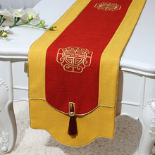 Latest Chinese style Luxury Table Runner Home Decoration Rectangular Cloth High End Vintage Dining Protection Mat